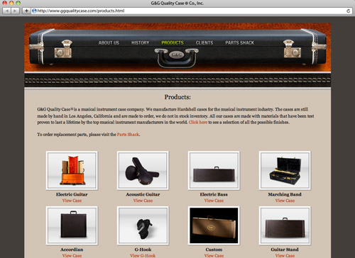 G&G Quality Case - Products
